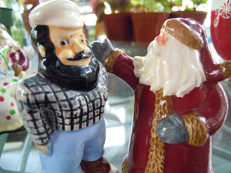 Paul and Santa