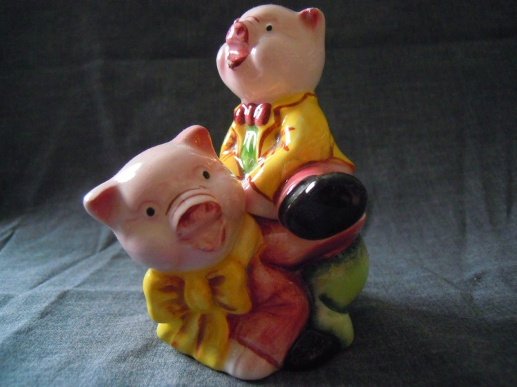 pigs stacked